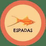 icono peces espada tabla de compatibilidad